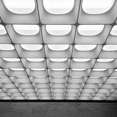 Photographer Paolo Ferrari. Ceiling Detail, Ceiling Design, L Office, Ceiling Materials, Inside Design, Architectural Elements, Office Interiors, Textured Walls, Interior Lighting
