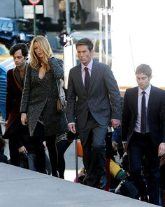 """Dan Humphrey, Serena van der Woodsen, Jack Bass, and Nate Archibald in the episode """"New York, I Love You XOXO"""". Jack Bass Gossip Girl, Desmond Harrington, Dan Humphrey, Nate Archibald, Serena Van Der Woodsen, Chace Crawford, Tv Quotes, Blake Lively, Movies And Tv Shows"""