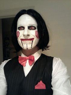 This guy looks creeepy to me as Jigsaw.