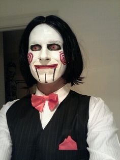 This guy looks creeepy to me as Jigsaw.