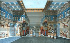 Assyrian palace in Nineveh in country now known as Iraq