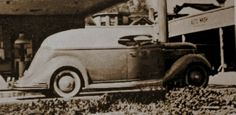 Last known photo of the amazing So Calif. Plating Co. truck, based on a 1936 Ford. Circa 1940s, Hollywood area.