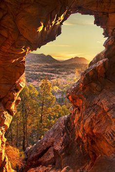 Warraweena Sunset, Flinders Ranges. Photo: Peter MacDonald