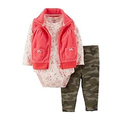 carters camo girls outfit - inspiration?? ;)