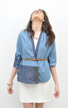 a detacher julia denim jacket http://www.shopanaise.com/a-detacher-julia-denim-jacket/