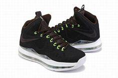 Nike Zoom LeBron X Cork QS Black-White James Basketball Shoes