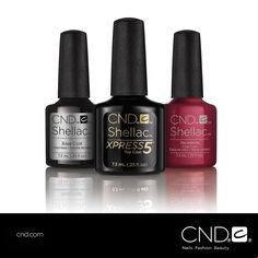 The new CND® SHELLAC® brand 14+ day nail color system provides stunning crystal shine and 5 minute removal!
