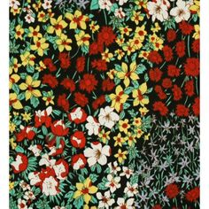 Coton imprimé fleurs