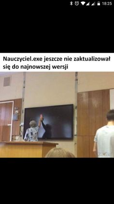 Nauczyciel has stopped in rozwuj Wtf Funny, Funny Jokes, Polish Memes, I Cant Even, Best Memes, True Stories, I Am Awesome, Lol, Humor