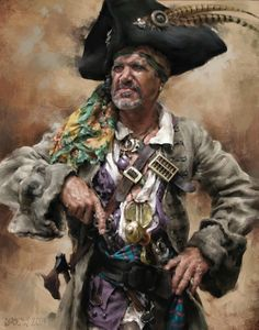 Pirate by LindseyLively | Portrait | 2D | CGSociety