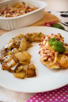 Low Carb Kurfürsten-Schnitzel mit Bratkohlrabi – Low Carb Köstlichkeiten