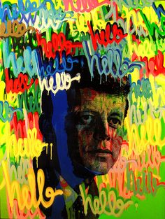 """""""JFK3"""" See more artwork by Justin Kane by subscribing on Ziibra at https://www.ziibra.com/justin-kane-elder/"""