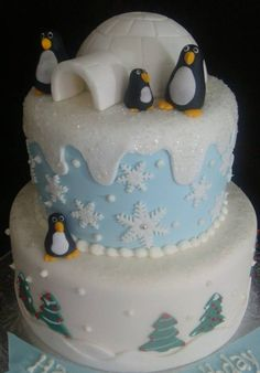 penguin birthday cakes | Touch Of Cake - Our Cakes