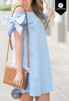 Vestidos para mujer Limonni Bennett LI1183 Cortos Casuales - #Bennett #Casuales #Cortos #LI1183 #Limonni #mujer #para #Vestidos