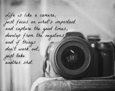 Camera Quote Print Black White Photography Quote Art Home Decor