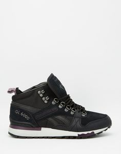 Image 2 of Reebok GL 6000 Mid Black   Purple Sneakers Purple Trainers,  Purple Sneakers a591ffaccb6