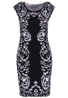 Anna Field Sukienka z dżerseju - black/white za 116,1 zł (28.04.16) zamów bezpłatnie na Zalando.pl.