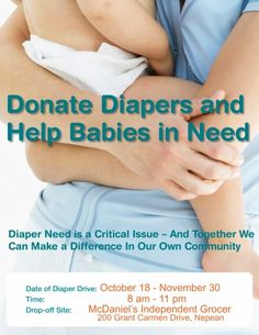 Helping Babies In Need – One Diaper At A Time