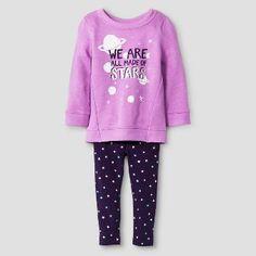 Baby Girls' 2-Piece Set Baracoa Violet - Cat & Jack™