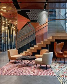 57 Best Place to Find Hotel Lobby Design – Furniture Hotel Lobby Design, Hotel Bedroom Design, Modern Hotel Lobby, Interior Exterior, Room Interior, Interior Architecture, Interior Ideas, Kitchen Interior, Hall Hotel