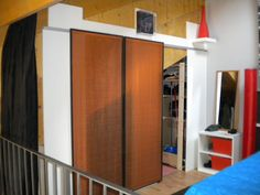 Beautiful IKEA Hackers Sliding doors for bedroom storage Vanessa us room