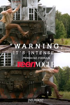 Well obviously it's intense it is an action film...Prepare to be blown away. What was your favorite scene from the #InsurgentTrailer? | Insurgent