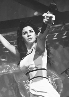 """Marina and The Diamonds """"You say that i'm kinda difficult, but it's always someone else's fault"""""""