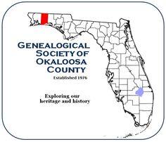 OKALOOSA COUNTY, Florida - Genealogical Society of Okaloosa County