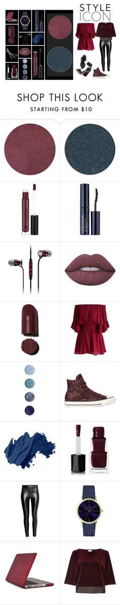 """""""Style icon🤘😎"""" by s-timi ❤ liked on Polyvore featuring Anastasia Beverly Hills, Estée Lauder, Sennheiser, Pierre Hardy, Lime Crime, Chicwish, Terre Mère, Converse, Bobbi Brown Cosmetics and BOBBY"""
