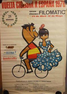 Cartel Vuelta Ciclista España año 1970