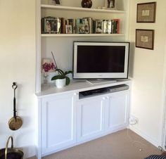 TV cabinets fitted shelves and cupboards