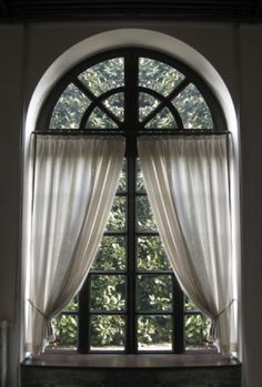 curtain rod for sunburst widow - Google Search