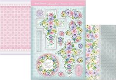 Hunkydory Special Moments die cut toppers & card - Easter Wishes