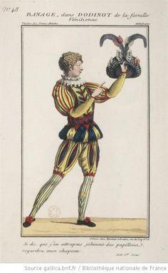 [La famille vénitienne ou Le château d'Orsenno, mélodrame de Frédéric : costume de Banage (Dodinot)]