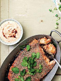 Fish Recipes, Real Food Recipes, Healthy Recipes, Yummy Eats, Yummy Food, Chili, Danish Food, Menu, Big Meals