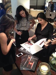 """Turning Inspirations into Attractions"" event with Arteriors Home Designer Laura Kirar at the ADRIANA HOYOS showroom in the Throughout The World, Showroom, Turning, Furniture Design, Contemporary, Inspiration, Home, Style, Biblical Inspiration"