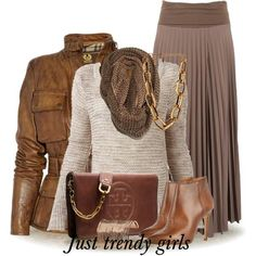 winter maxi skirt Mix and match trendy casual outfits  http://www.justtrendygirls.com/mix-and-match-trendy-casual-outfits/