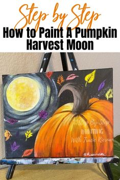 18 Thanksgiving Paintings Ideas Autumn Painting Step By Step Painting Autumn Art
