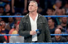 After Shane McMahon makes the match official, tensions rise between the participants in the Money in the Bank Ladder Match. Shane Mcmahon, Wwe Tna, Money In The Bank, Getting Fired, Wwe Superstars, Next Week, Ladder, Wrestling, Men