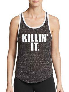 Corner Shop | Killin' It Racerback Tank Top | SAKS OFF 5TH