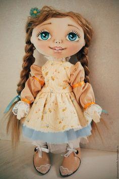 Купить Куколка-Весна - бежевый, кукла, куколка, весна, подарок, любовь, хлопок, натуральная кожа