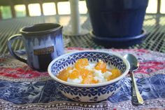 Gluten Free Breakfast: Mandarin Cottage Cheese Salad | Life After Bread