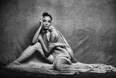 Peter Lindbergh, Mariacarla Boscono, A Unique Allure, Vogue Italia, March 2017