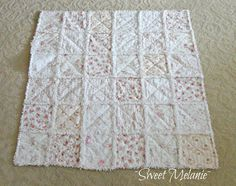 ~Sweet Melanie~ Shabby Chic Style & Inspiration ♥ #shabbychic #quilts #quilting