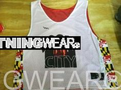 Get Boom City Pinnies - Maryland Flag Boom City Lax Pinnies - Maryland Reversible Jerseys