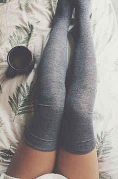 Knee socks!