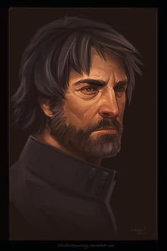Corvo Attano by sokolovdrawings