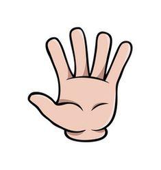 Human cartoon hand showing two fingers Royalty Free Vector Finger Cartoon, Cartoon Monkey, Cartoon Kids, Body Parts Preschool Activities, Preschool Math, Muslim Book, Hand Clipart, Bee Drawing, Black And White Cartoon