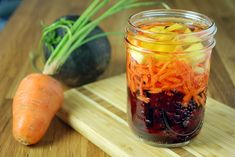 Sous-Vide Beet-Carrot-Ginger Infused Vinegar - Amazing Food Made Easy