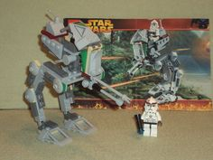 Lego STAR WARS Set 7250 CLONE SCOUT WALKER From 2005 RARE 100% Complete Retired in Toys & Hobbies   eBay